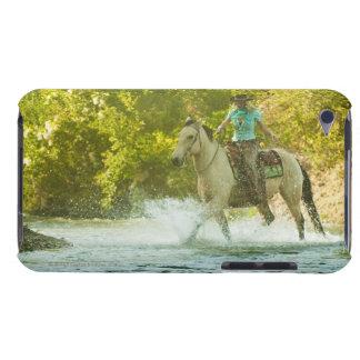 Horseback rider 16 iPod touch case