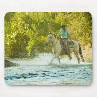 Horseback rider 16 mouse pad