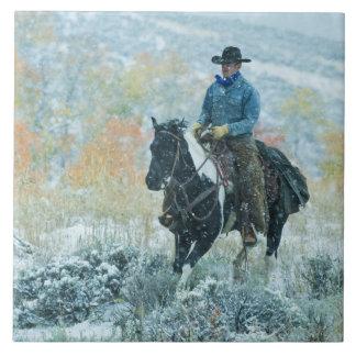 Horseback rider 19 tile