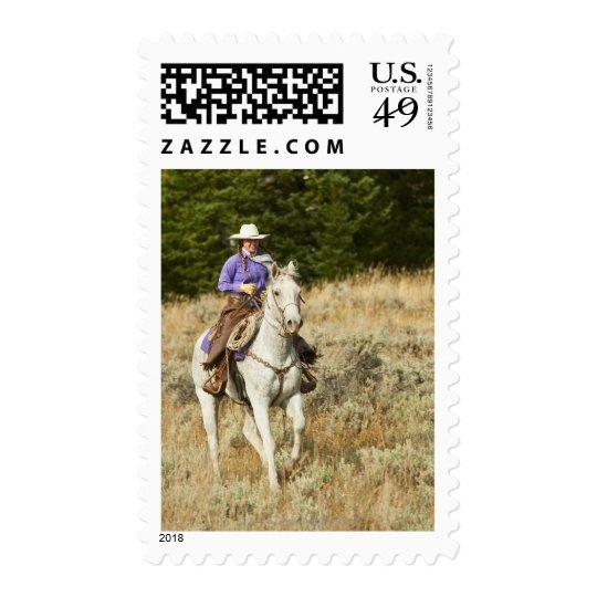 Horseback rider 20 postage