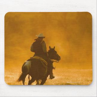 Horseback rider 3 mouse pad