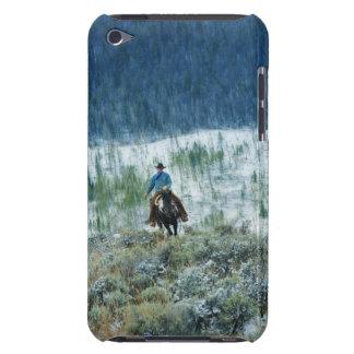 Horseback rider 4 iPod touch case