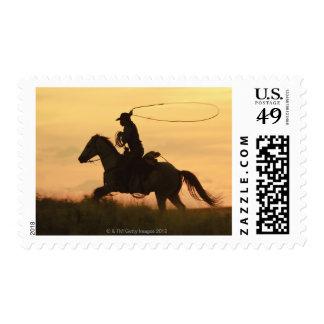 Horseback rider 6 postage
