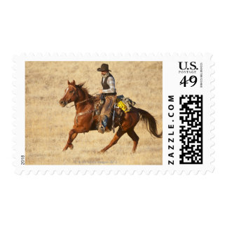 Horseback rider 8 postage stamp