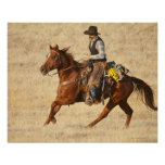 Horseback rider 8 poster