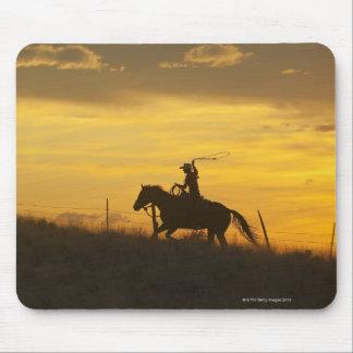 Horseback rider 9 mousepad