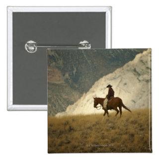 Horseback rider buttons