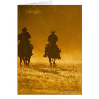 Horseback riders 3 card