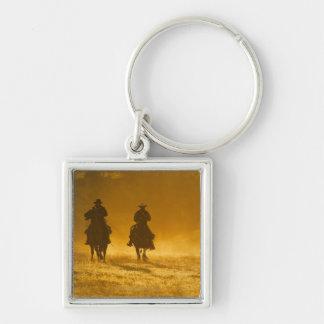 Horseback riders 3 keychain