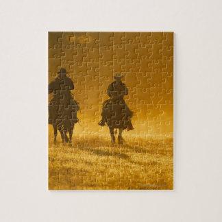 Horseback riders 3 jigsaw puzzle