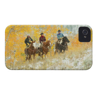 Horseback riders 7 iPhone 4 case