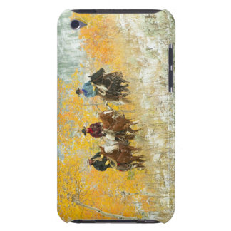 Horseback riders 7 iPod touch cover
