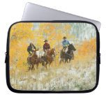 Horseback riders 7 laptop sleeves