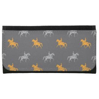 horseback riders patterns women's wallets