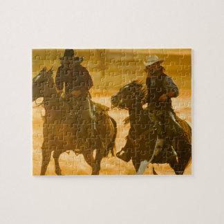 Horseback riders jigsaw puzzles