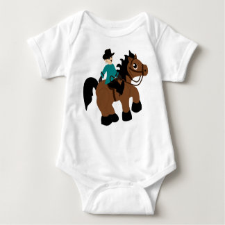 Horseback Riding Baby Bodysuit