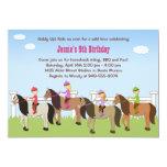 Horseback Riding Birthday Party Invitation
