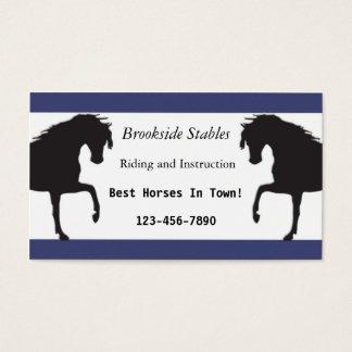Horseback Riding Business Card