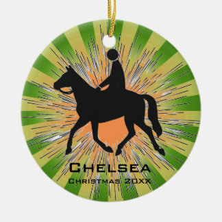 Horseback Riding Equestrian Ornament