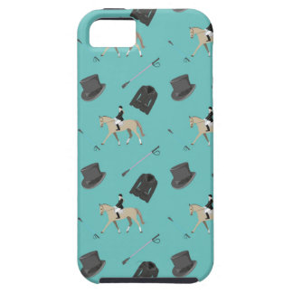 Horseback riding in a modern style iPhone SE/5/5s case