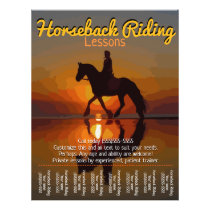 Horseback Riding Lessons. Horse Boarding.Trails Flyer