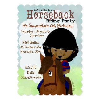 Horseback Riding Party Personalized Invites