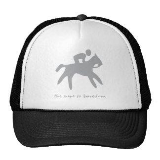 Horseback riding......the cure to boredom trucker hat