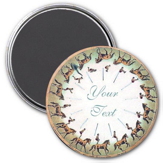 Horseback Sommersault Magnet