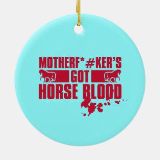 Horseblood Ornamentos De Navidad