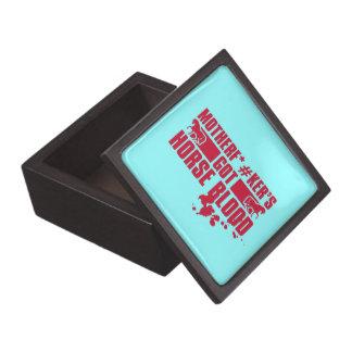 Horseblood Jewelry Box