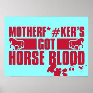 Horseblood Impresiones
