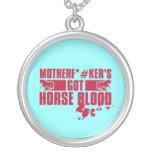 Horseblood Pendiente