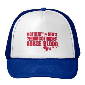 Horseblood Trucker Hat