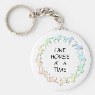 horsecirclelogo keychain