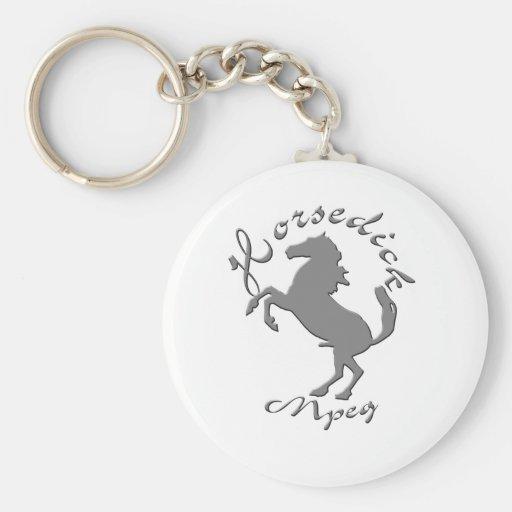 HorseDick Dot Mpeg Keychains