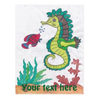 Horsefish Postcard