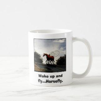 horsefly Wake up and fly Horsefly Coffee Mug
