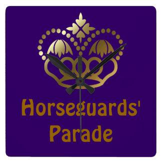 Horseguards Parade Square Wall Clock