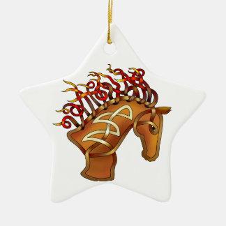 Horsehead Ceramic Ornament
