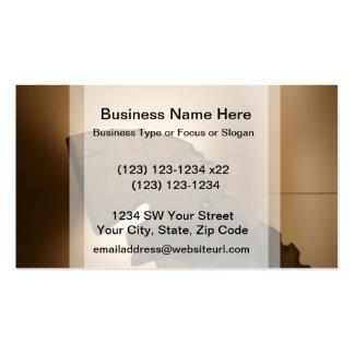 Horsehead formó el windchime tarjeta de negocio