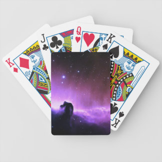 Horsehead Nebula colorful night sky scenery Deck Of Cards