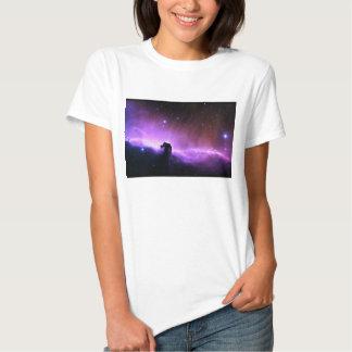 Horsehead Nebula colorful night sky scenery T Shirt