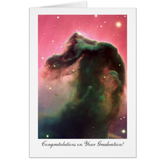 Horsehead Nebula - Congratulations on Graduating Greeting Card