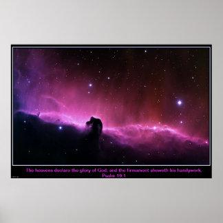 Horsehead Nebula Inspirational Poster