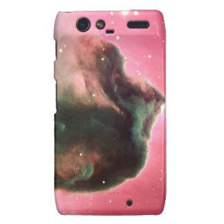 Horsehead Nebula Pink Space Droid RAZR Cases