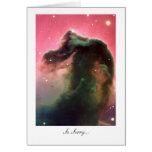Horsehead Nebula - So Sorry Greeting Card