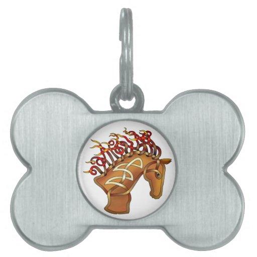 Horsehead Placas Mascota