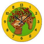 Horsehead Reloj De Pared