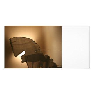 Horsehead shaped windchime card