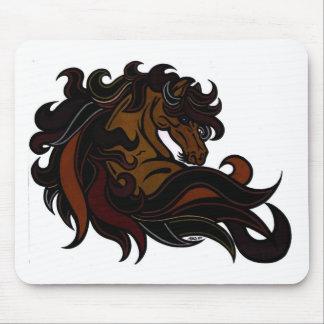 Horseheadcolor1 Mousepads